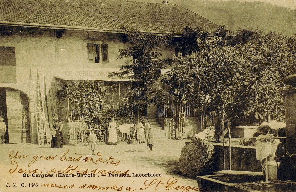La Pension Lacorbière